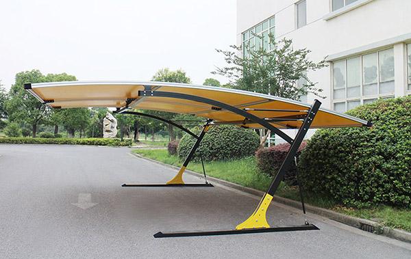 2018-6-26 客户定制联体车篷出货